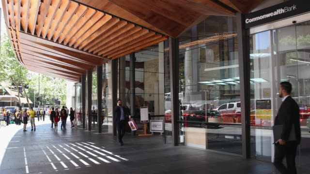the newly completed offices of ey at 200 george street as seen from the sidewalk november 2 2016 in sydney australia on november 56th sydney open... - peter greenaway stock videos & royalty-free footage