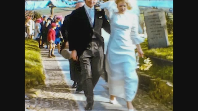 the newlyweds arrived - 1951 stock videos & royalty-free footage