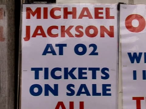 the news of michael jacksonõs death has had particular resonance in london, where the singer was planning to make his high profile comeback. london,... - greater london stock videos & royalty-free footage