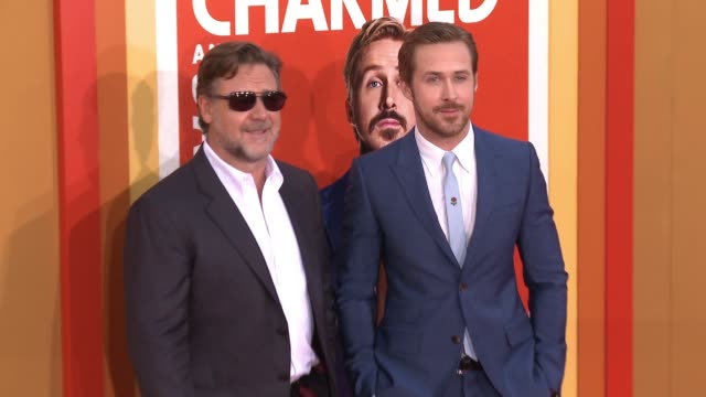 CHYRON 'The Nice Guys' Los Angeles Premiere at TCL Chinese Theatre on May 10 2016 in Hollywood California