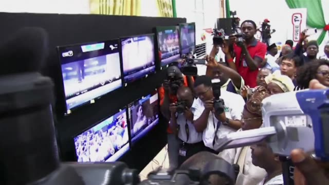 the nigerian city of jos saturday made the switch to digital television in a pilot scheme that will see those with digital receivers able to access... - jos nigeria stock videos & royalty-free footage