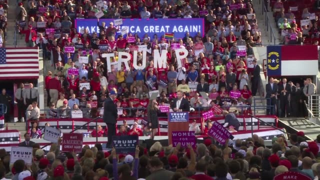 The night before the US presidential election Republican candidate Donald Trump promised voters during a rally in Raleigh NC that the US will be a...