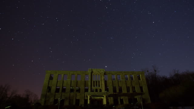 the night sky at labor party office - labour party stock videos & royalty-free footage