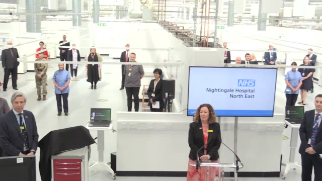 the nightingale hospital north east officially opens in sunderland, with messages from ant & dec, alan shearer and the countess of wessex. includes... - nurse jackie video stock e b–roll