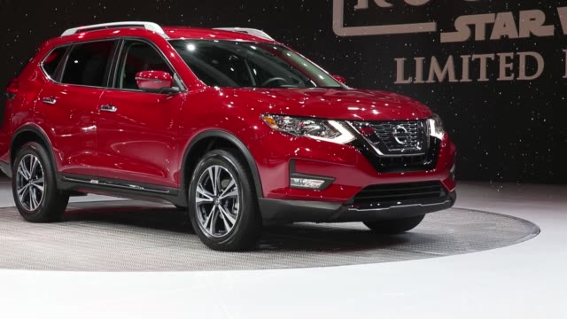 The Nissan Motor Co Rogue One Star Wars Limited Edition sports utility vehicle is displayed during Automobility LA ahead of the Los Angeles Auto Show...