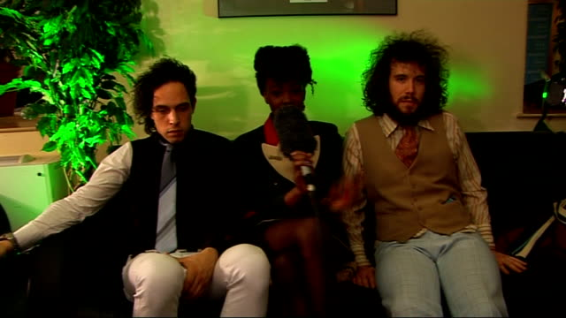 'the noisettes' interview noisettes interview sot not a new band have been around for 45 years / think they're a good example of a band where big... - album title stock videos and b-roll footage