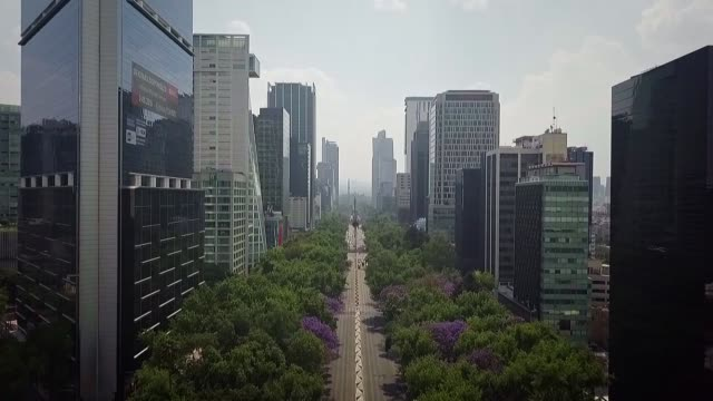 the normally busy streets and plazas of the mexican capital were mostly empty on wednesday as the number of confirmed and suspected coronavirus cases... - mexico stock videos & royalty-free footage