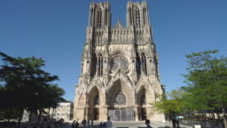 The Notre Dame de Reims Cathedral in Reims, France