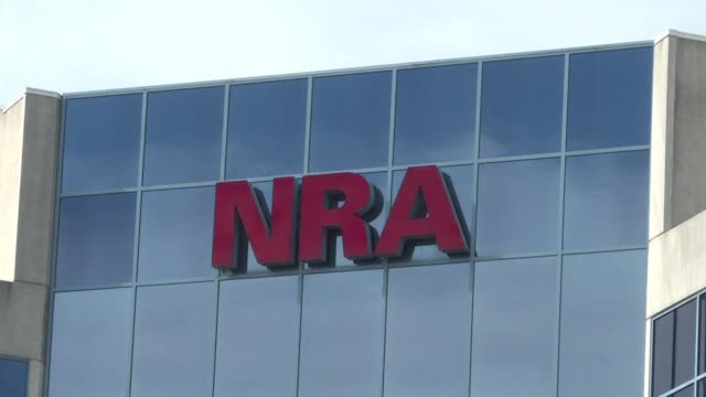 the nra says that additional regulations should be imposed on devices used to convert the las vegas shooter's rifles into rapid fire weapons breaking... - national rifle association stock videos & royalty-free footage