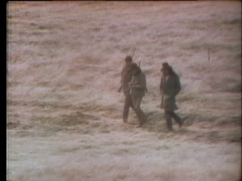 the occupation of wounded knee leads to desperate living conditions within the town. - 1973 stock videos & royalty-free footage