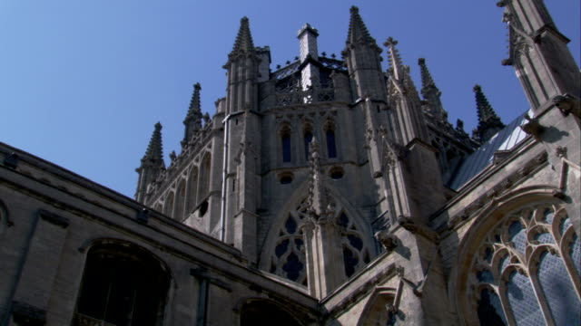 the octagon tower of ely cathedral. available in hd. - octagon stock videos & royalty-free footage
