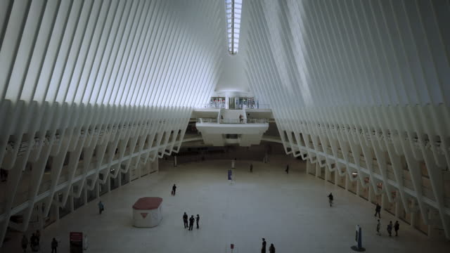 the oculus (new york city) during coronavirus pandemic - 2000s style stock videos & royalty-free footage