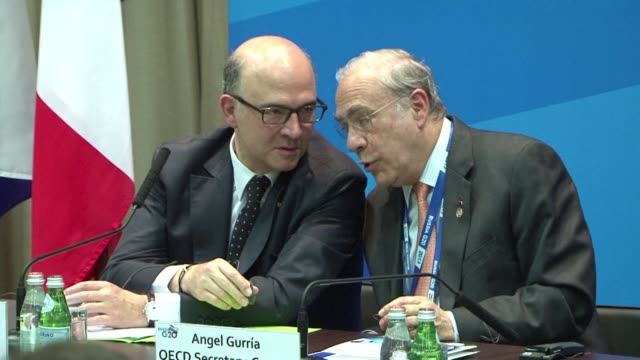 the oecd presented g20 nations with a bold strategy on friday to crack down on tax avoidance by corporate giants and the super rich and so boost... - avoidance stock videos & royalty-free footage