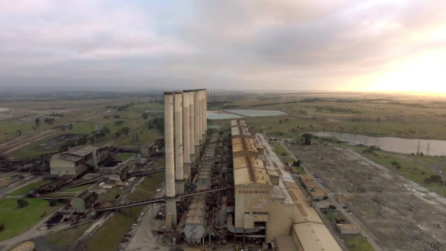the of the hazelwood power station in the latrobe valley, victoria. - david ewing stock videos & royalty-free footage