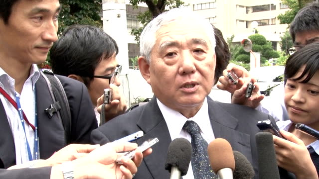 vídeos de stock, filmes e b-roll de the okinawa government filed a lawsuit against the central government friday over the planned relocation of a us military base within the island... - lawsuit