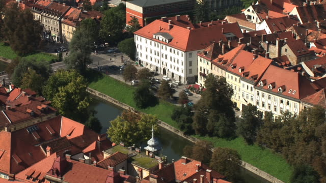 hd: the old city center - slovenia stock videos & royalty-free footage