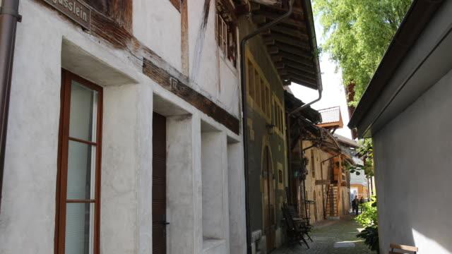 The old city of Murten (Morat), Switzerland