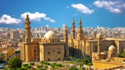 The old mosque is located in Cairo, the capital of Egypt.