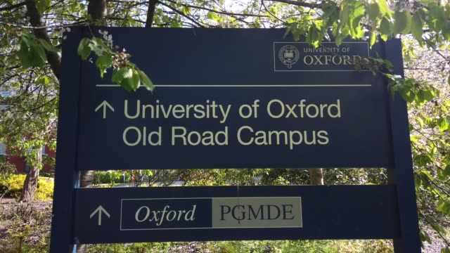 the old road campus of oxford university, which houses the jenner institute on april 19, 2020 in oxford, england. a research team from the jenner... - oxford england video stock e b–roll