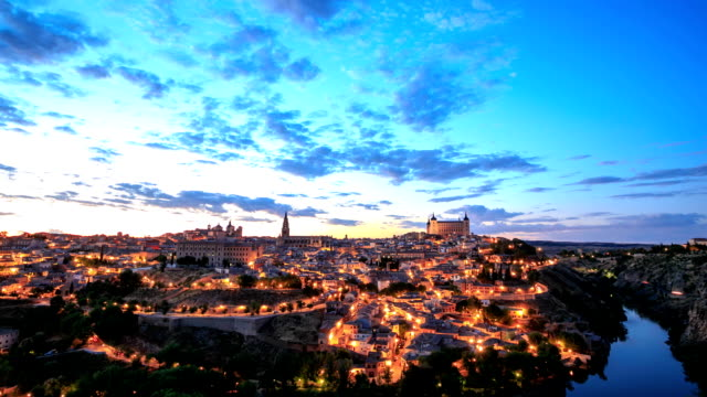 The old spanish city Toledo, Spain.