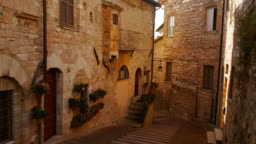 The Old Town of Assisi, Umbria, Italy