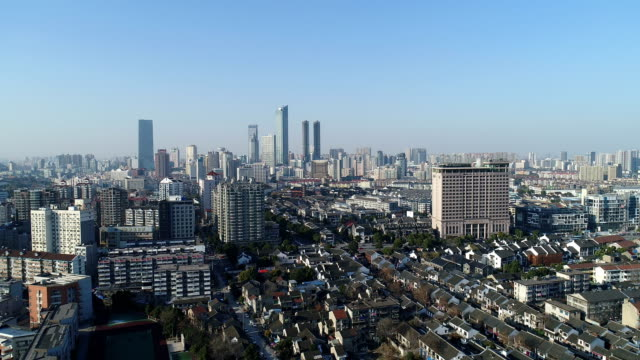the old urban complex - wuxi stock videos and b-roll footage