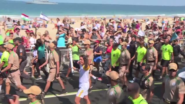 The Olympic Torch travels along Rio de Janeiros spectacular coastline from Leblon to Ipanema and Copacabana ahead of the Opening Ceremony of the 2016...