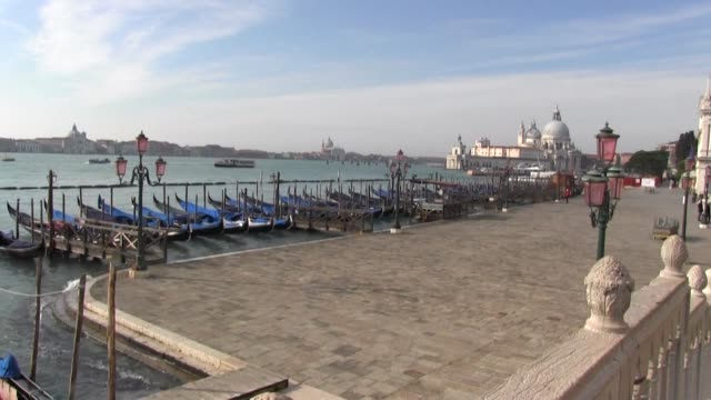 the once booming tourist city of venice is now seemingly semi deserted after the government imposed strict lockdowns in the more hard-hit northern... - north stock videos & royalty-free footage