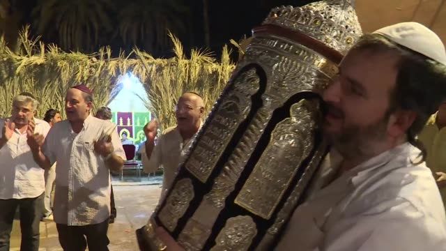 the once teeming jewish area of moroccan tourist gem marrakesh is seeing its fortunes revived as visitors including many from israel flock to... - moroccan culture stock videos & royalty-free footage