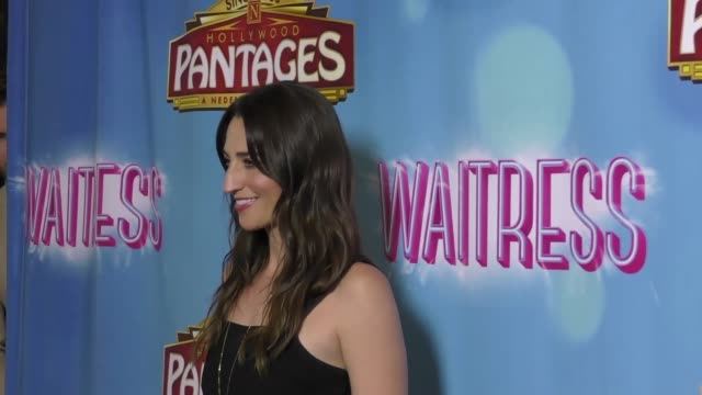 clean the opening night of 'waitress' at the pantages theatre on august 03 2018 in hollywood california - annie wersching stock videos and b-roll footage