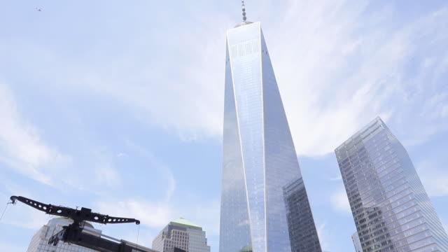 vídeos de stock, filmes e b-roll de the opening of 3 world trade center new york city ny us on monday june 11 2018 - cortando fita