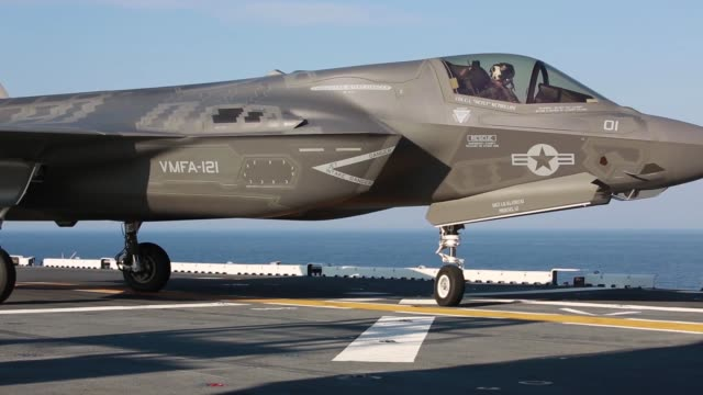 The operational testing of the F35B evaluated and assessed the integration of the F35B into Marine Corps aviation while operating across different...