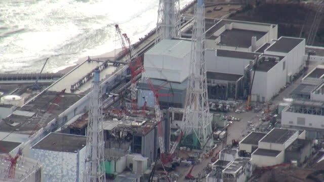 vídeos y material grabado en eventos de stock de the operator of the crippled fukushima daiichi nuclear power plant said saturday it has finished removing all fuel rods from the spent fuel pool of... - nuclear energy