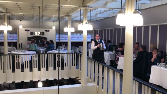 the original willow tea rooms building has welcomed its first guests since a £10 million restoration on the 150th anniversary of its designer charles... - charles rennie mackintosh stock videos and b-roll footage
