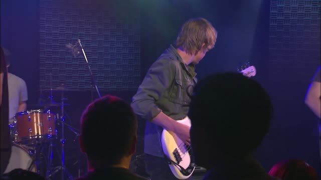 the orwells brought their punk and indie rock sound to the jbtv stage with their song 'halloween all year' - punk music stock videos & royalty-free footage