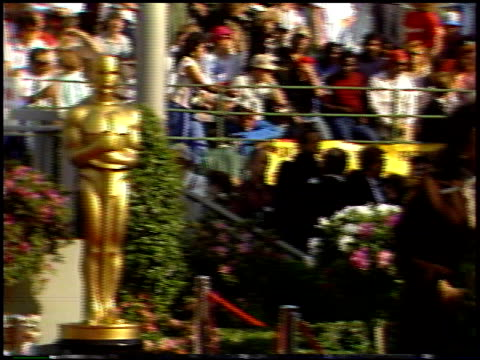 The Oscar Statue at the 1987 Academy Awards at Dorothy Chandler Pavilion in Los Angeles California on March 30 1987