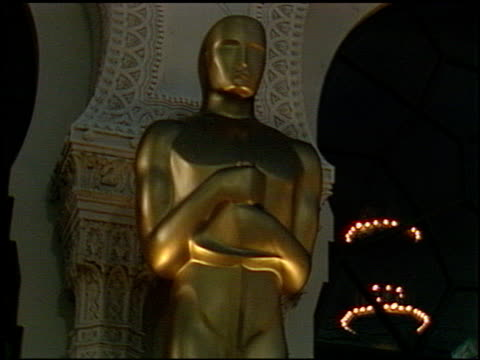 The Oscar Statue at the 1991 Academy Awards at the Shrine Auditorium in Los Angeles California on March 25 1991