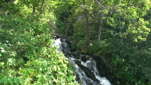 The Oshinkoshin Waterfall In The Shiretoko National Park, Hokkaido, Japan