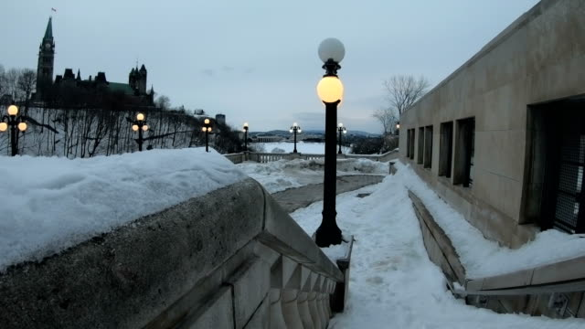 the ottawa locks on the rideau cana - rideau canal stock videos & royalty-free footage