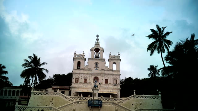 Die Our Lady of Immaculate Conception Church befindet sich in Panjim, Goa, Indien.