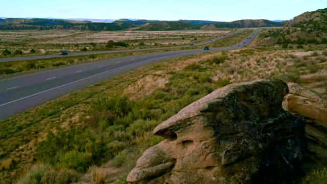 ユタ州の高速道路の俯瞰 - 見渡す点の映像素材/bロール