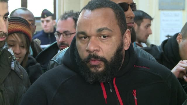 the owners of a parisian theatre where controversial comic dieudonne has been performing since 1999 the main d'or are looking at ways to end his... - dor stock videos & royalty-free footage