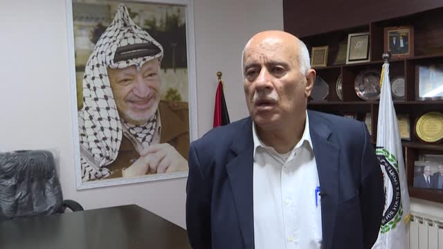 the palestinian leadership welcomes the new us administration's intention to reopen the offices of the palestine liberation organisation in... - palestine liberation organisation stock videos & royalty-free footage