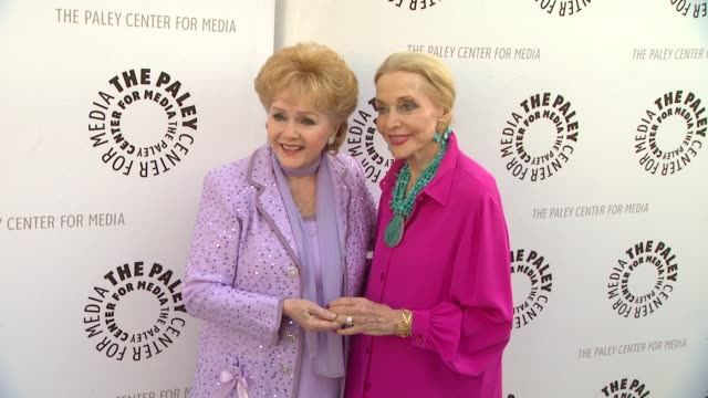the paley center for media presents a special premiere viewing & reception, 'debbie reynolds: the exhibit', beverly hills, ca, united states, 8/16/11 - debbie reynolds stock-videos und b-roll-filmmaterial