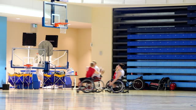 The PanAm and Parapan Am Games organizing committee start selling tickets for the games the media got to see wheelchair basketball court where some...