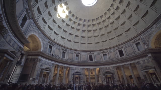 the pantheon, rome - pantheon rome stock videos and b-roll footage
