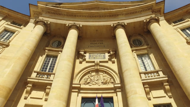 the pantheon sorbonne law university closed since march 13, 2020 and will remain closed until the start of the new school year in september. 12 place... - pantheon paris stock videos & royalty-free footage