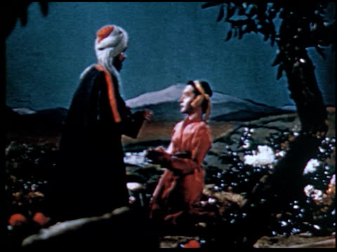 the parable of the prodigal son - 12 of 13 - marionette stock-videos und b-roll-filmmaterial