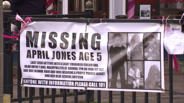 """the parents of april jones say they're overwhelmed by the """"massive amount of resources"""" being used to find their """"beautiful"""" daughter. the 5 year old... - mid wales stock videos & royalty-free footage"""