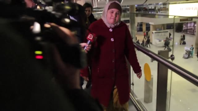 The parents of the alleged suicide bomber behind a deadly metro explosion arrive in Saint Petersburg from their home city of Osh in southern...